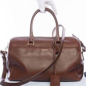Authentic Yves Saint Lauent Duffle 6 Bag